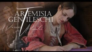 """38 Primo Piano sull'autore – Pianeta Donna. """"Artemisia Gentileschi, Pittrice Guerriera"""" di Jordan River"""
