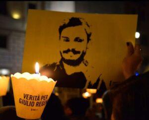 """Da Bolzano si continua a chiedere """"verità e giustizia"""" per Giulio Regeni."""