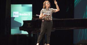 Rossella Panarese autrice e conduttrice di Rai Radio 3 Scienza