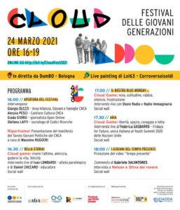 Cloud Festival delle Giovani Generazioni. 24 marzo ore 16.00