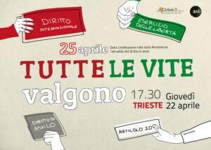 Verso il 25 aprile, il sostegno di Assostampa Fvg a iniziativa Trieste