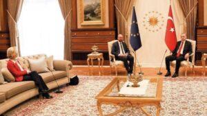 Erdogan-Von der Leyen, giusto il clamore e la protesta, ma dalla vicenda esala un puzzo d'ipocrisia