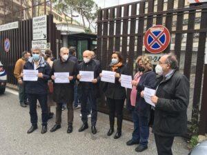 A fianco di Paola e Claudio Regeni contro i depistaggi e per avere verità e giustizia per Giulio