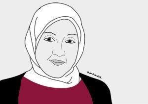 Solidarietà ad Asmae Dachan
