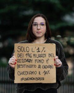 #unavocenonbasta: in piazza le campagne  Uno Non Basta e il Giusto Mezzo