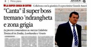 Il pentimento del boss Grande Aracri potrebbe far luce sui rapporti fra 'ndrangheta e politica nazionale