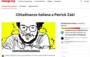 """""""Zaky cittadino italiano"""", Senato approva mozione che recepisce le richieste di 200mila firmatari su Change.org"""