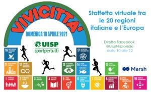 Vivicittà Uisp 2021 diventa virtuale e corre per lo sviluppo sostenibile