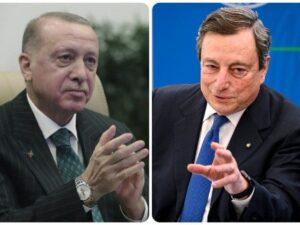 Draghi anti Erdogan gioca da leader Ue