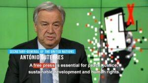 Libertà di stampa, l'allarme dell'Onu: con la pandemia di Covid aumentate limitazioni e bavagli