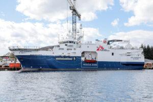 """MSF riprende le attività salvavita con una nuova nave. """"Non possiamo restare a guardare la rotta dei migranti più letale al mondo"""""""