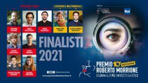 """Presentati i finalisti della decima edizione del Premio """"Roberto Morrione"""""""