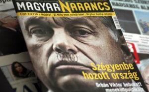 Questa copertina ungherese 'propaganda di terrorismo'? Inciampo del parlamento europeo