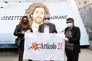 Un murale per Mario Paciolla all'Arenella, per non dimenticare