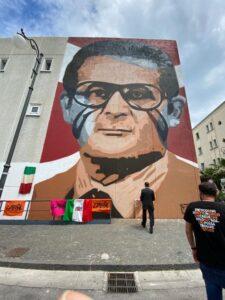 A Pagani il murales per Marcello Torre, ucciso su ordine di Cutolo