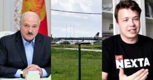 Il Dittatore Lukashenko fa dirottare un volo della Ryanair per arrestare un suo oppositore