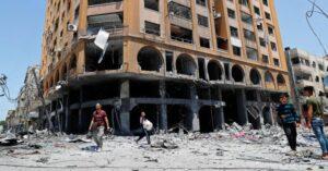 Sotto le bombe di Gaza