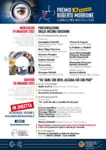 19 e 20 maggio. Decennale Premio Roberto Morrione per il giornalismo investigativo