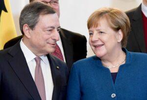 Europei, asseDraghi-Merkel