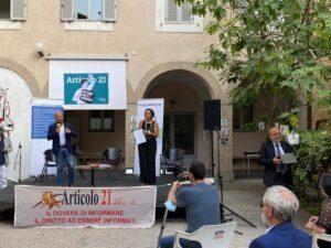 Premiata la libertà di espressione. Articolo21 in festa alla Casa internazionale delle Donne