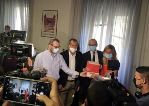 Pietre, solidarietà a Paolo Borrometi