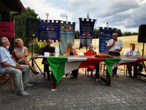 """L'antifascismo a Marzabotto: """"La battaglia per il NO a Vattani ambasciatore continua"""""""