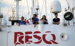 Resq: una nuova nave umanitaria ora è realtà. Grazie a 3000 donatori e un pizzico di utopia