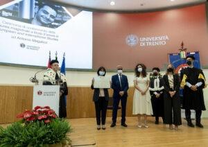Laurea d'onore a Trento per Megalizzi, presente Mattarella