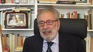 Morto Nicola Tranfaglia, a darne notizia la Fondazione Murialdi