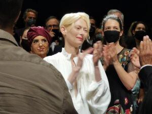 "Cannes 2021. Tilda Swinton in ""Memoria"" di Apichatpong Weerasethakul"
