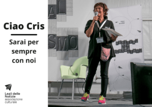 II ricordo del sorriso di Cristina Visintini di Leali delle Notizie