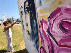 Due murales con Ilaria Alpi e Miran Hrovatin per continuare a chiedere verità e giustizia