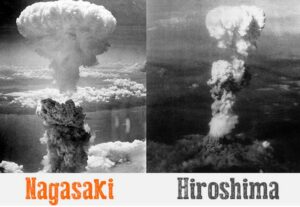 Un crimine contro l'umanitá. 6 e 9 agosto memoria delle vittime di Hiroshima e Nagasaki