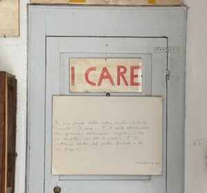 "Da Barbiana ad Assisi per dire ""I Care"""