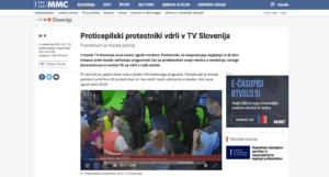 Slovenia: assalto alla RTV