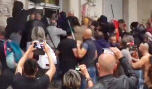 Usigrai: Le immagini dell'assalto alla sede della Cgil mettono i brividi