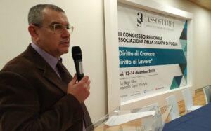 Bari, aggredita troupe di Trm Network. La solidarietà dell'Assostampa Puglia