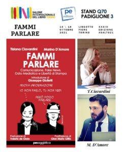 'Fammi parlare' al Salone del Libro di Torino