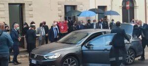 Lamorgese nel Salento inaugura nuovo corso di bene confiscato alla mafia