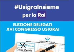 Giornalisti Rai: al voto per un congresso di rilancio del Servizio Pubblico